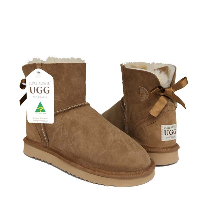 Arrow Mini Ugg Boots - Chestnut