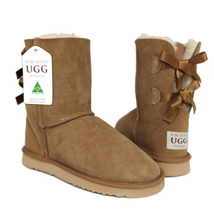 Arrow Short Ugg Boots - Chestnut