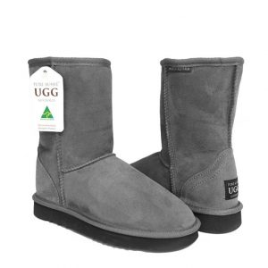 Classic Short Ugg Boots - Coulden Grey