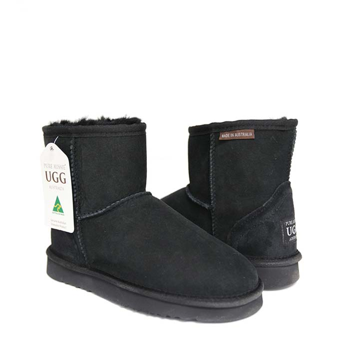 Classic Ultra Short Ugg Boots - Black