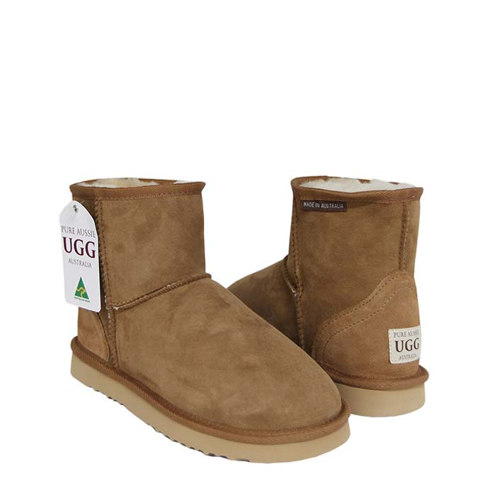 Classic Ultra Short Ugg Boots - Chestnut
