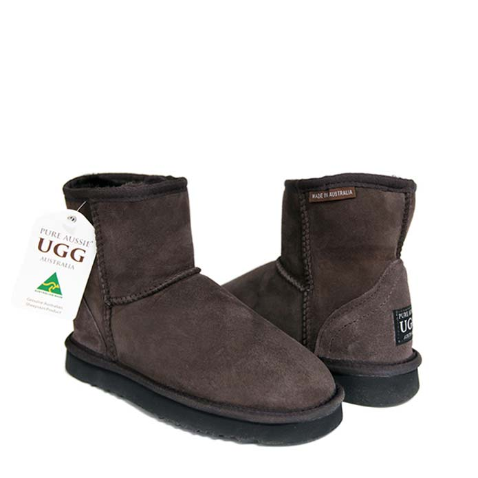 Classic Ultra Short Ugg Boots - Chocolate