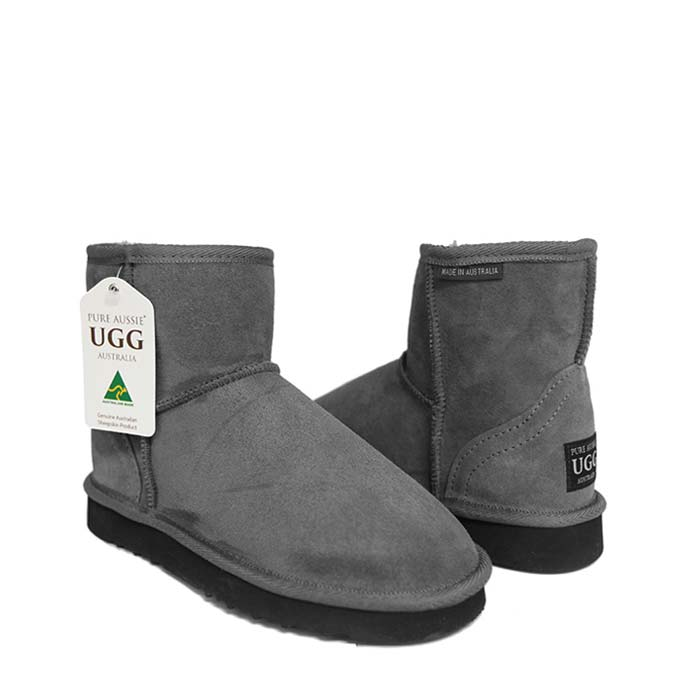 Classic Ultra Short Ugg Boots - Goulden Grey