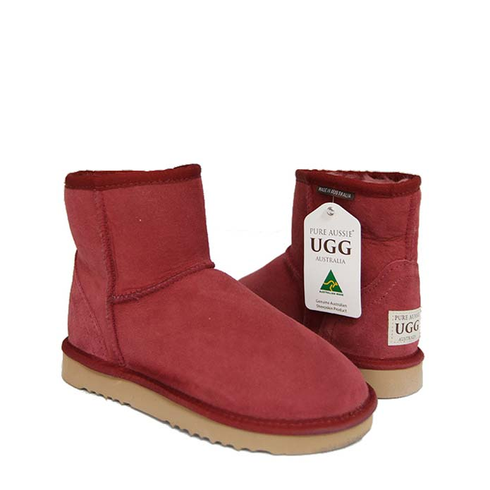 Classic Ultra Short Ugg Boots - Jester Red