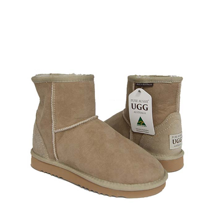 Classic Ultra Short Ugg Boots - Sand