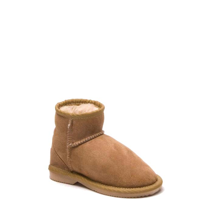 Kids Ultra Short Ugg Boots - Chestnut