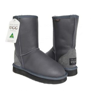 Classic Short Ugg Boots Grey Nappa