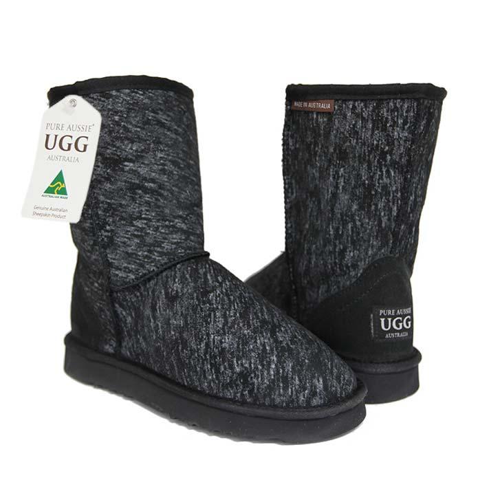 Classic Short Ugg Boots Jean Black