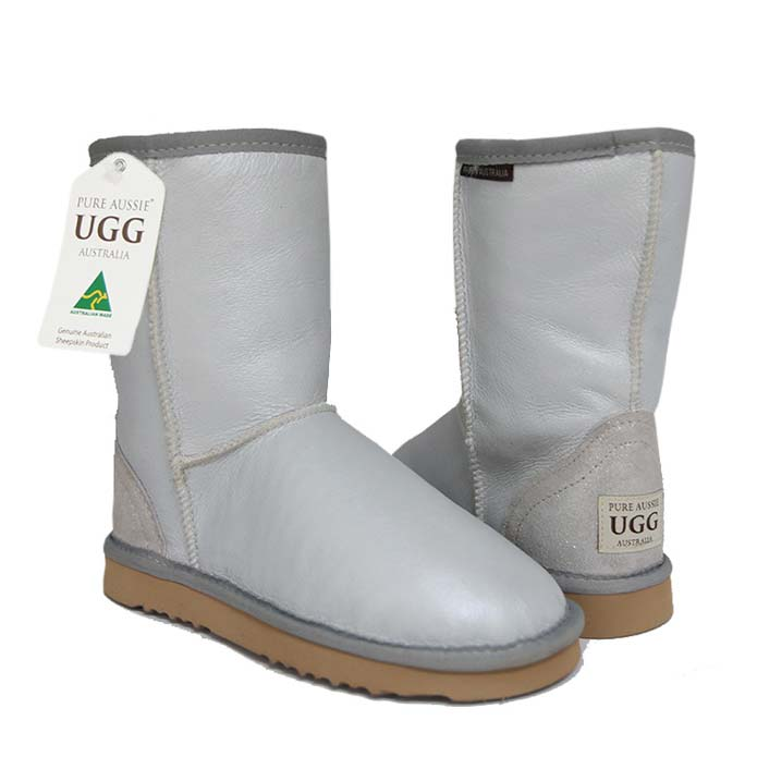 Classic Short Ugg Boots White Nappa
