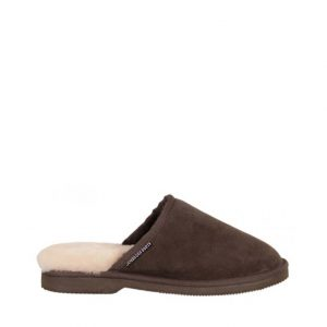 Mens Sheepskin Scuffs - Chocolate