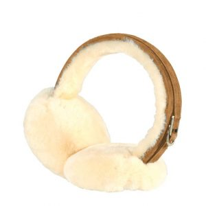 Sheepskin Earmuffs - Chestnut