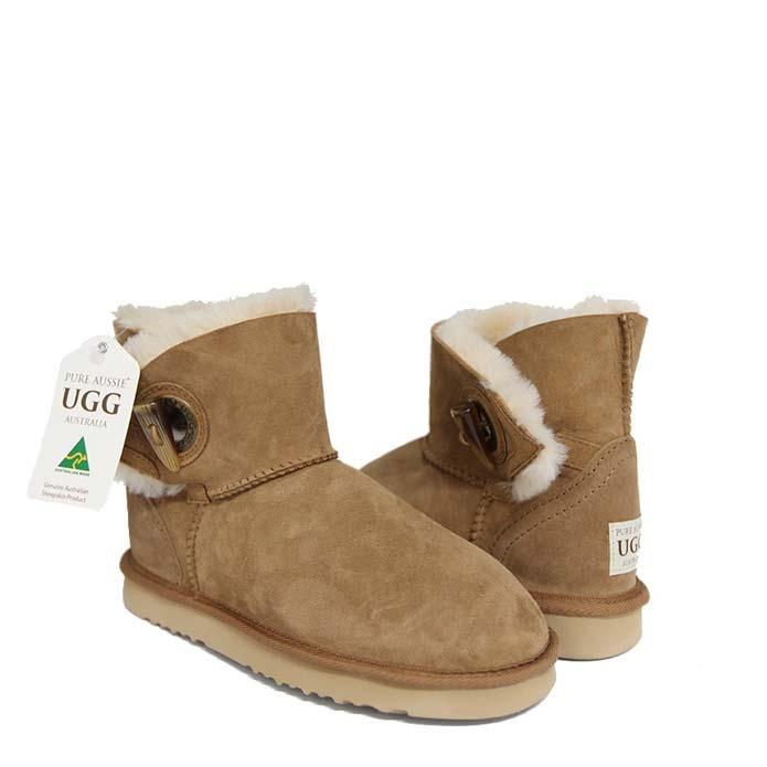 Toggle Single Ugg Boots - Chestnut