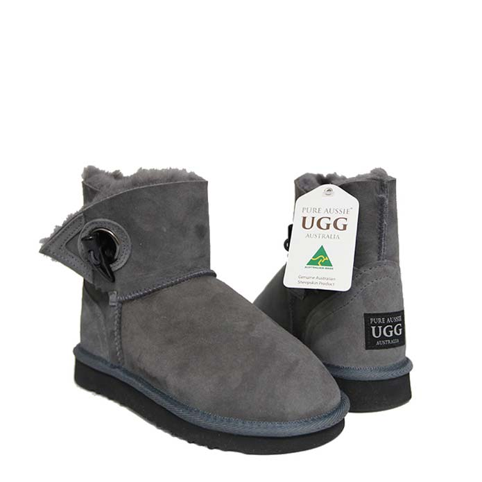Toggle Ugg Boots - Gouden Grey