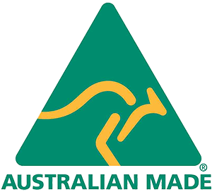 australian made logo green