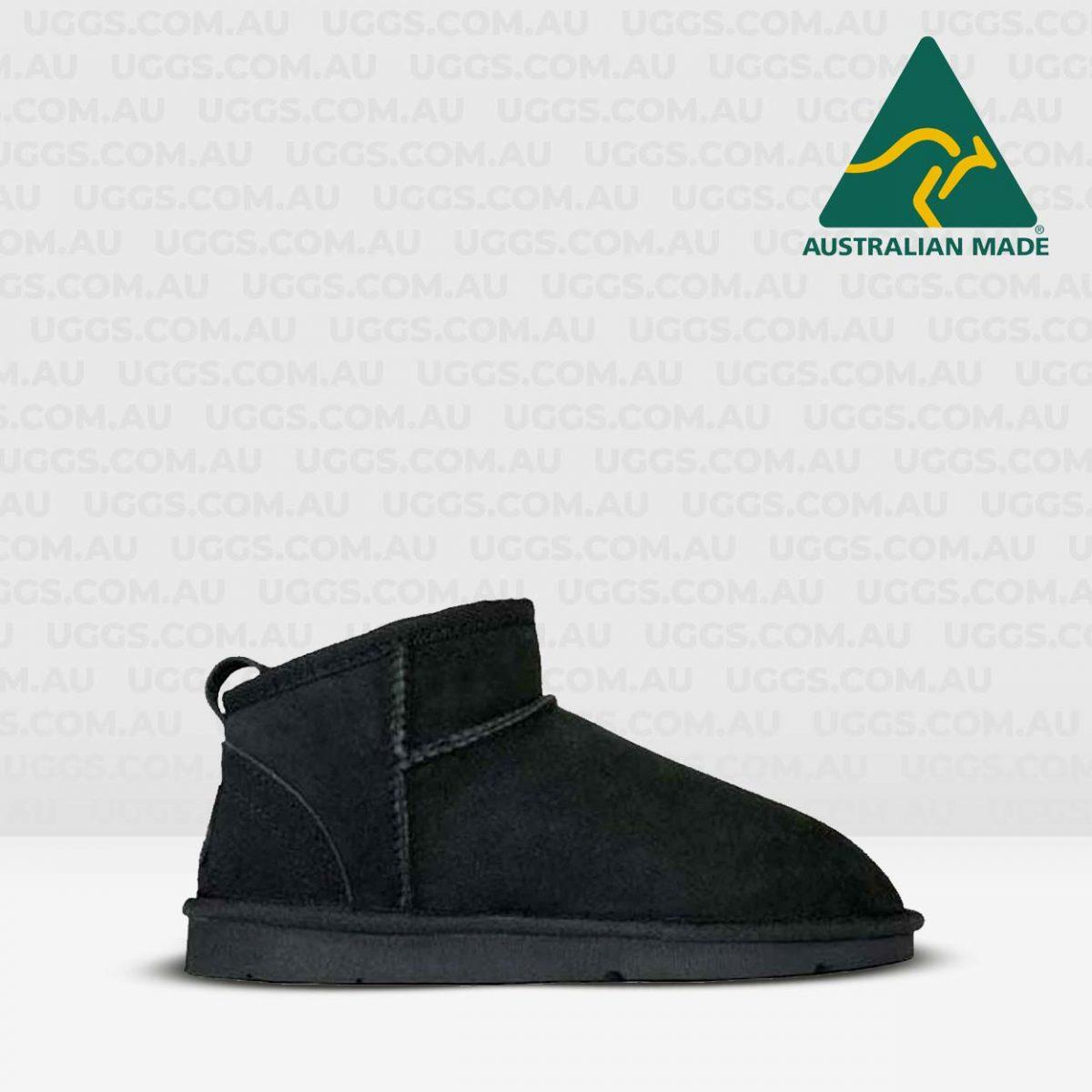 joey mini ugg boots black