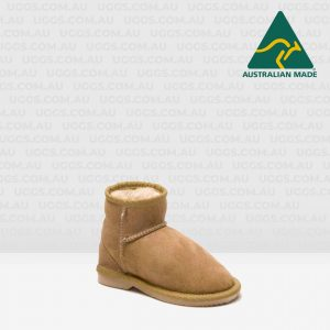 kids ankle ugg boots chestnut