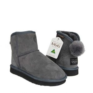 Ankle Bunny Ugg Boots - Goulden Grey