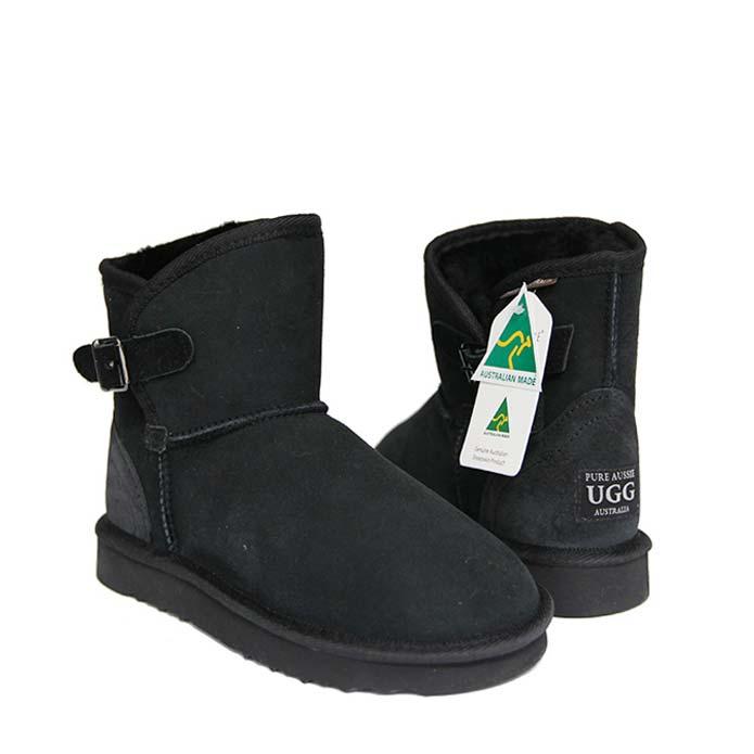Belt Ugg Boots - Black