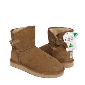 Belt Ugg Boots - Chestnut