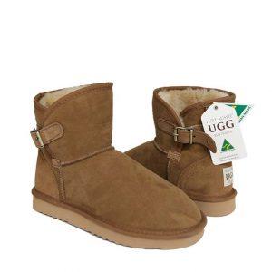 Belt Ugg Boots - Chestnut
