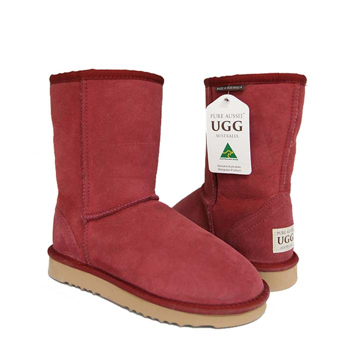 Classic Short Ugg Boots - Jester Red