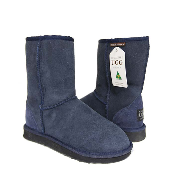 Classic Short Ugg Boots - Navy Blue