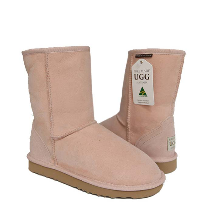 Classic Short Ugg Boots - Pastel Pink