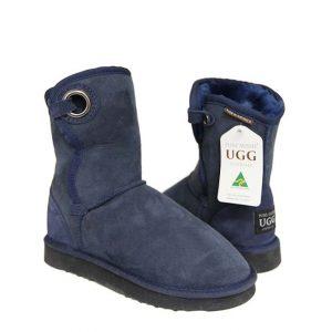 Pola Ugg Boots - Navy Blue