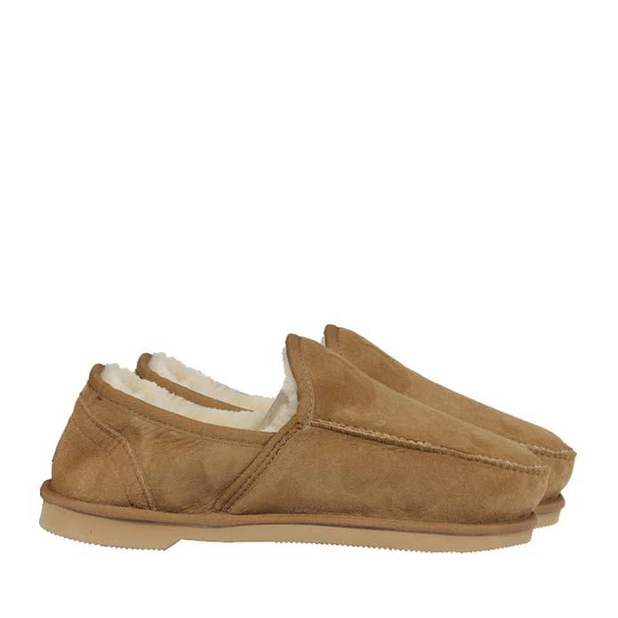Sheepskin Loafers Chestnut