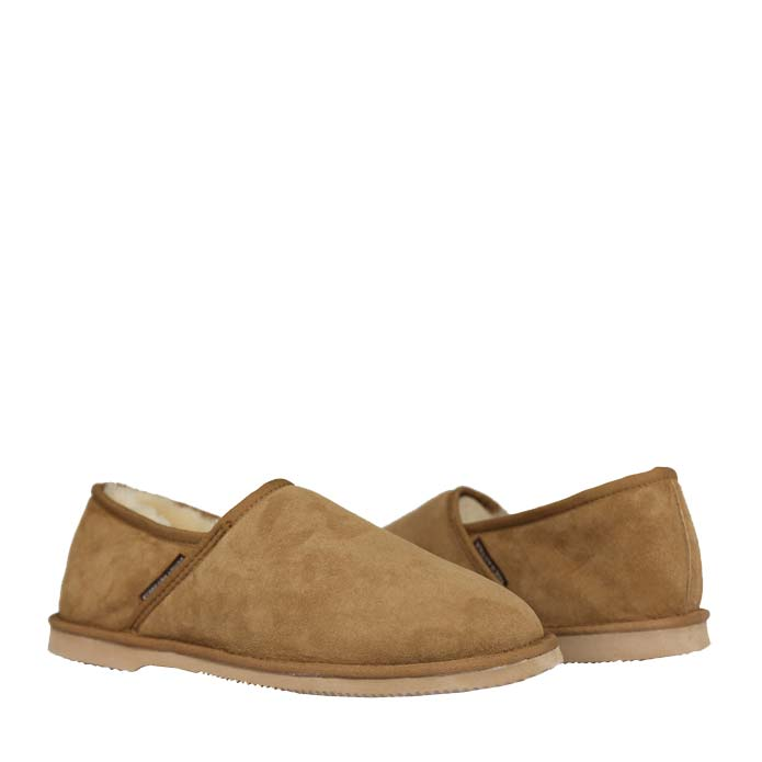 Sheepskin Slippers - Chestnut