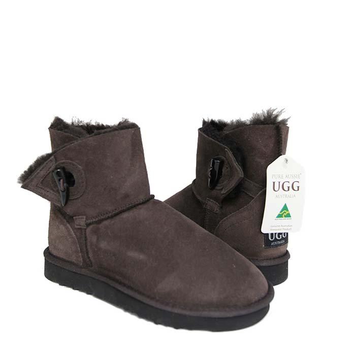 Tosca Ugg Boots - Chocolate