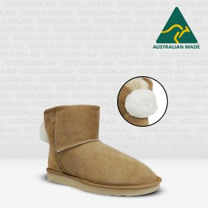 ankle bunny ugg boots chestnut