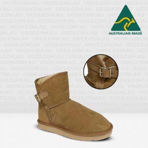 belt ugg boots chestnut