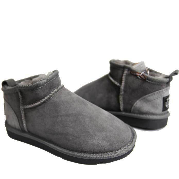 Classic Mini Ugg Boots Grey