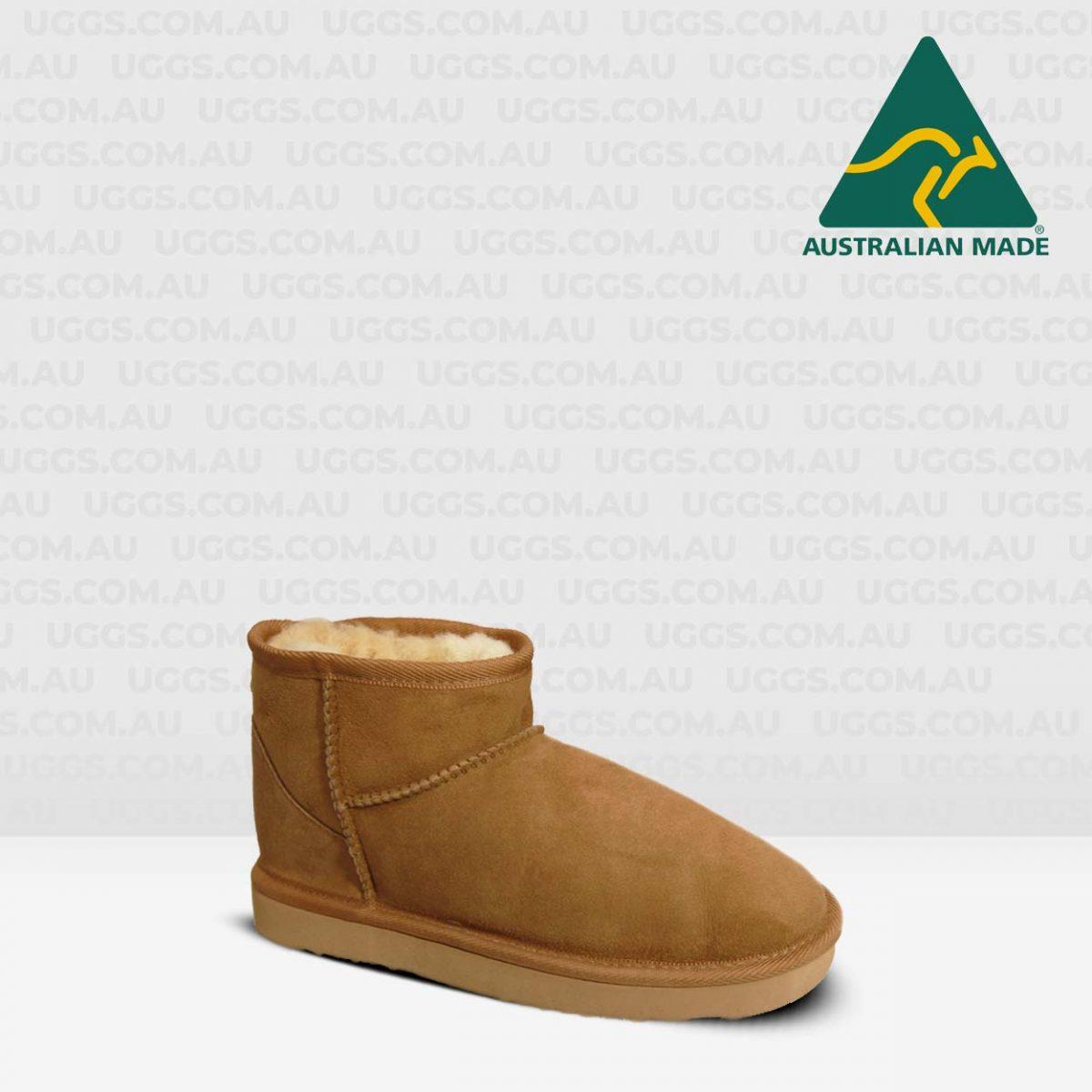 classic mini ugg boots chestnut