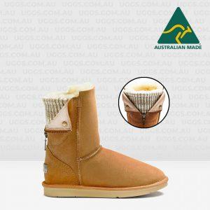 moto ugg boots chestnut